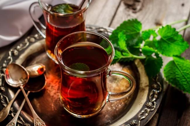 2 чашки турецкого чая