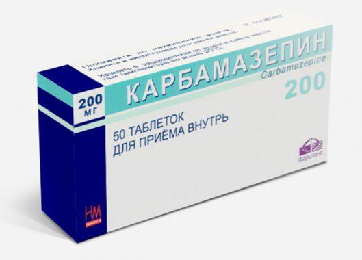 Карбамазепин в таблетках