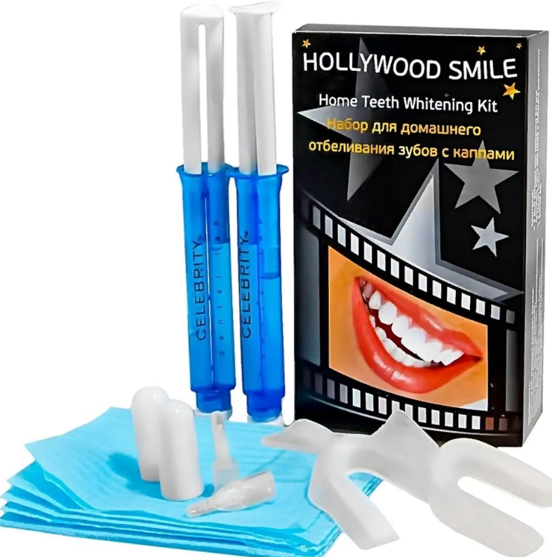 Косметические способы отбеливания зубов