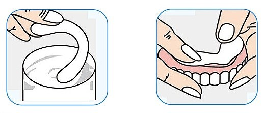 Прокладки для фиксации зубных протезов