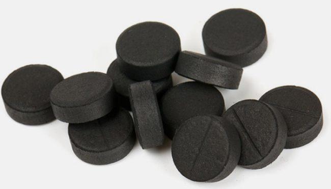 уголь в таблетках