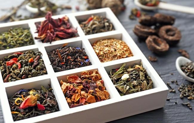 ассортимент тайского чая