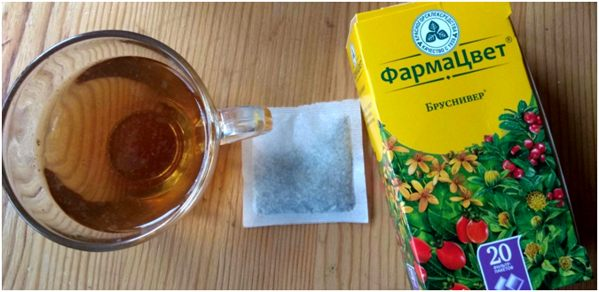 бруснивер чай почечный