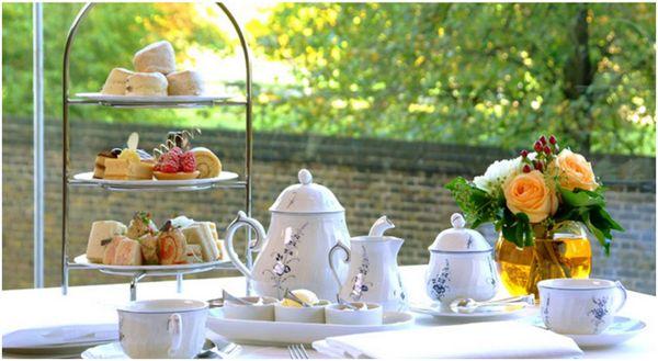 чаепитие в британии