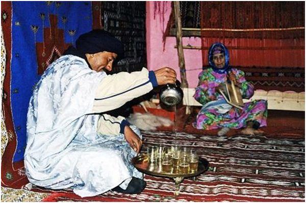 чаепитие в марокко