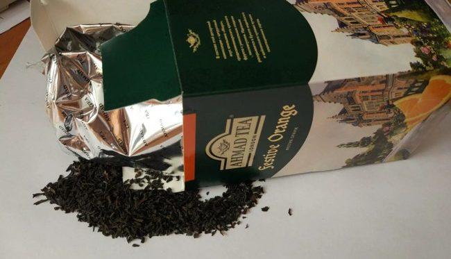 чай ахмад черный