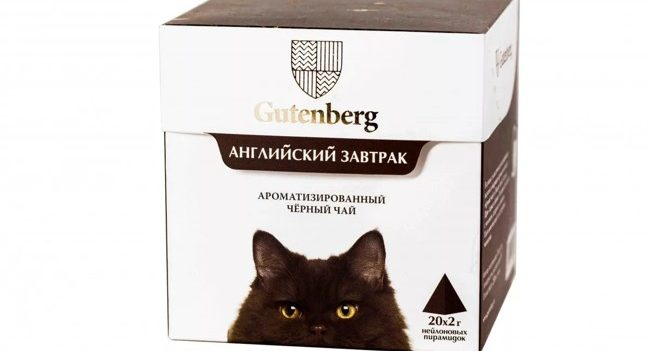 чай гутенберг кошки