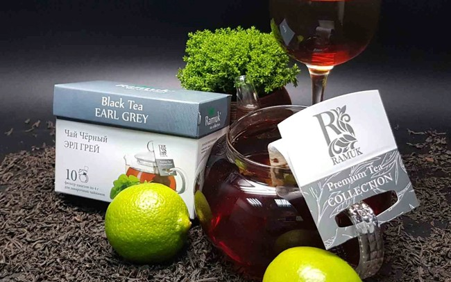 чай и бергамот