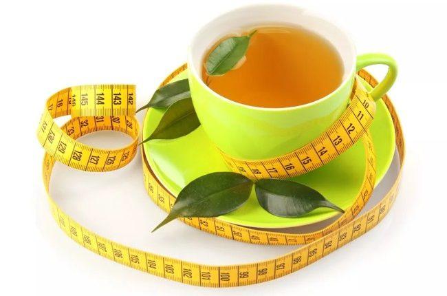 чай и сантиметр