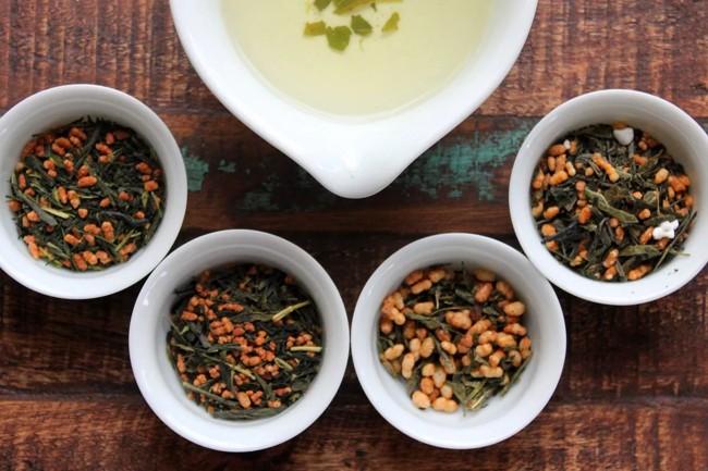 чай с рисом генмайча