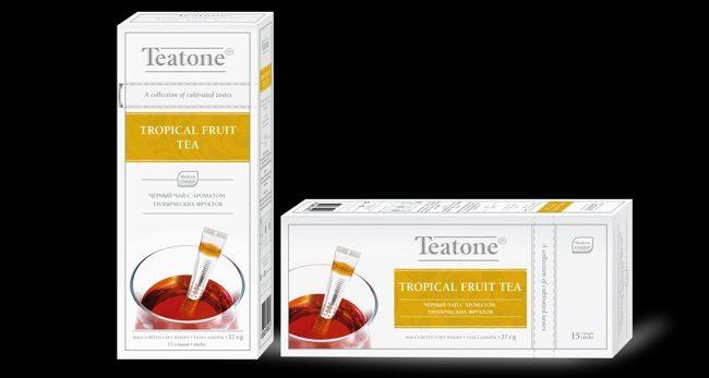 чай тиатон с фруктами