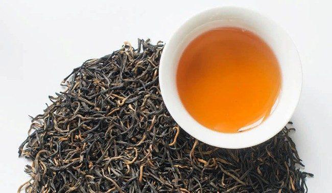 чашка чая черное золото