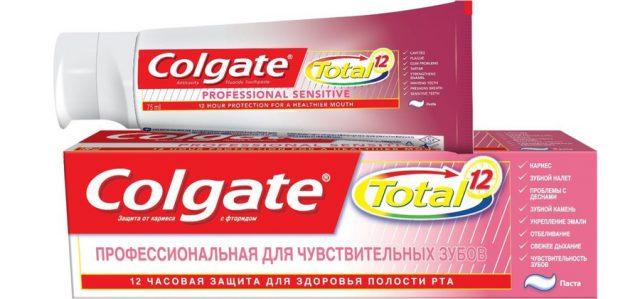 Colgate Total Профессиональная для чувствительных зубов