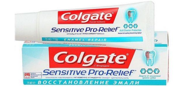 Colgate Sensitive Pro Relief Восстановление Эмали