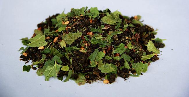 ферментированные смородиновые листья