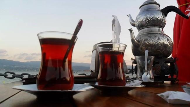 гранатовый чай по турецки