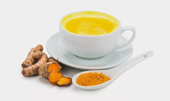 имбирный чай с куркумой