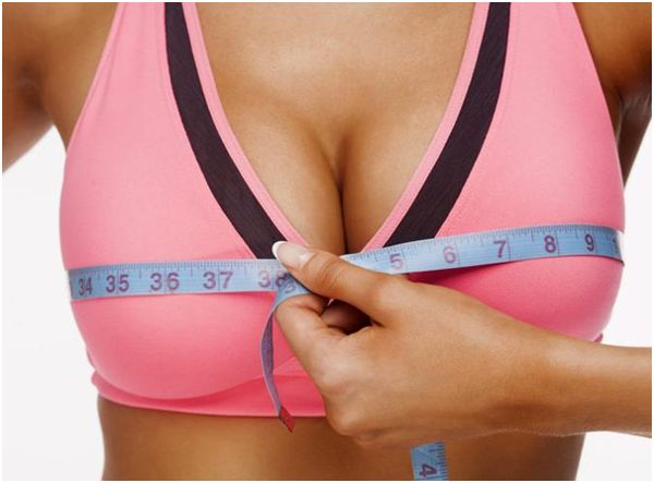 измерение объема груди