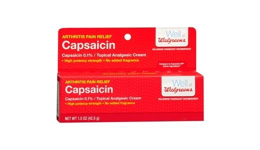 лекарство Капсаицин