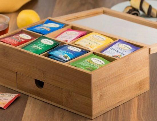 коробочка под чай