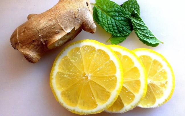 лимон и имбирь
