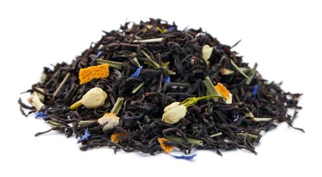 листья чая с бергамотом