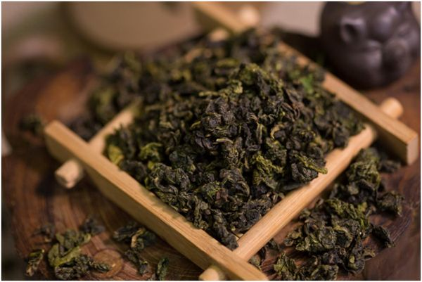 листья чая тегуаньинь