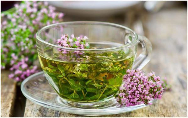мятный чай с чабрецом