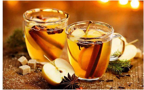 новогодний яблочный чай