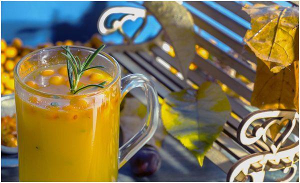 облепиховый чай осенью
