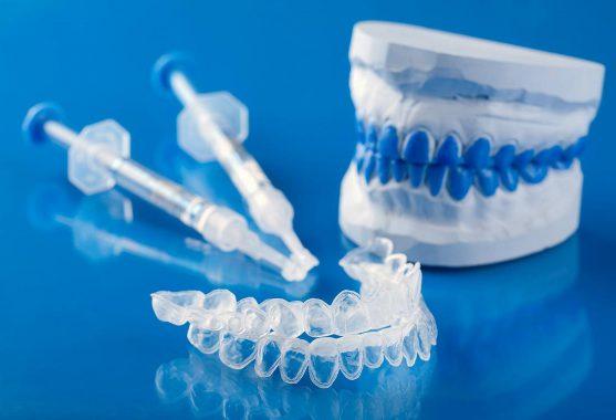 отбеливающая капа для зубов