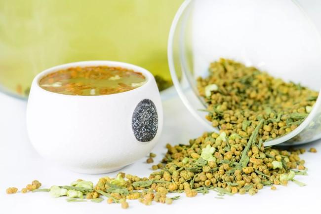 японский рисовый чай