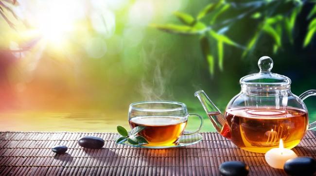 заваренный тибетский чай