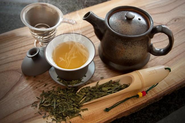 завариваем зеленый чай